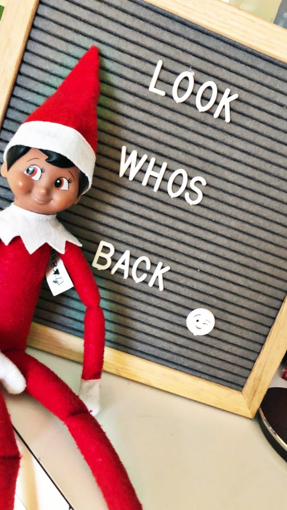Elf on the Shelf Favorite Christmas Traditions